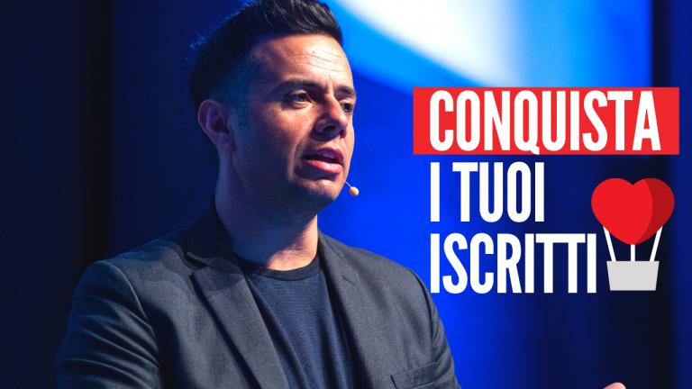 Emanuele Pianelli - conquista i tuoi iscritti